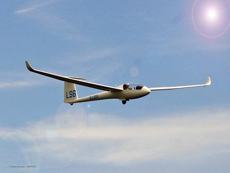 Vol à voile à l'aérodrome de Tourrettes-Fayence